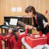 リトミック教室@目黒区都立大学 『3歳~未就学児・ピアノ PMクラス』開催の様子!12月は『サンタクロース』&次回の教室日程